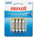 Maxell LR03 4BP Alkaline non-rechargeable battery