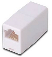Digitus AT-A 8/8 cable interface/gender adapter RJ45 White