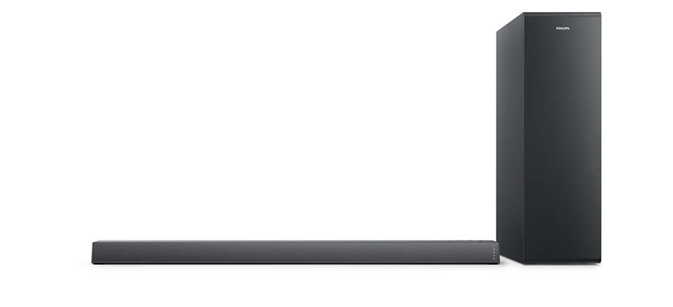 Philips TAB6305 Slim Sound Bar 2.1 CH Wireless Subwoofer