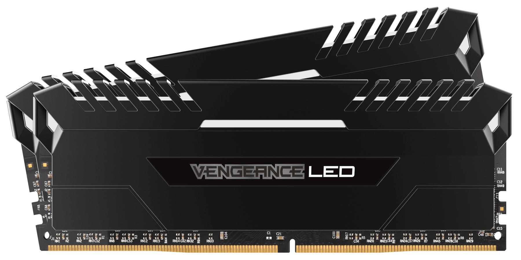 Corsair Vengeance LED 2x16GB DDR4-2666 32GB DDR4 2666MHz memory module