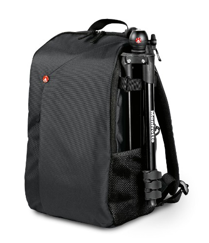 Manfrotto MB NX-BP-GY camera case Backpack Black, Gray