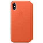 "Apple MVFC2ZM/A?ES funda para teléfono móvil 14,7 cm (5.8"") Folio Naranja"