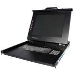 "StarTech.com 1U 15"" Rackmount LCD Console - USB + PS/2"