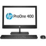 "HP ProOne 400 G4 50.8 cm (20"") 1600 x 900 pixels 8th gen Intel® Core™ i5 4 GB DDR4-SDRAM 256 GB SSD Windows 10 Home All-in-One PC Black"