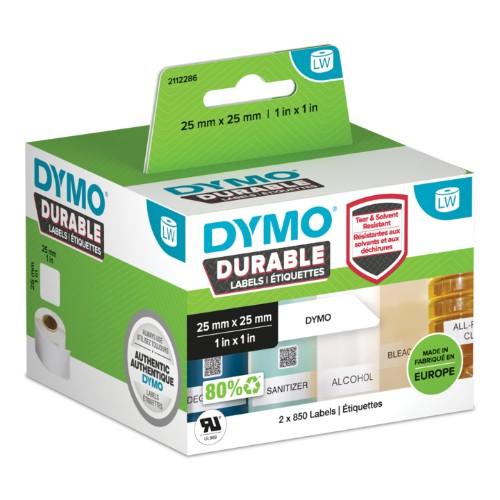 DYMO Durable White Self-adhesive printer label
