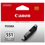 Canon 6512B001 (CLI-551 GY) Ink cartridge gray, 780 pages, 7ml