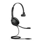Jabra Evolve2 30, UC Mono Headset Head-band USB Type-A Black