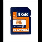 Platinum SDHC 4GB Class 6