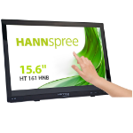 "Hannspree HT HT161HNB touch screen monitor 39.6 cm (15.6"") 1366 x 768 pixels Black Multi-touch Tabletop"