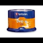 Verbatim DVD-R 16x 4.7GB DVD-R 50pieza(s)