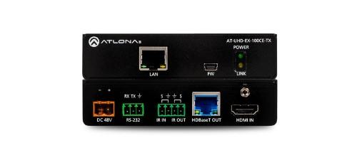 Atlona UHD-EX-100CE-TX AV transmitter Black