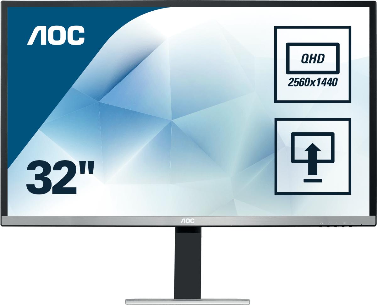Monitor LCD 32in Q3277pqu 2560x1440@60hz 178degree 3000:1 300cd/m2 4ms D-sub DVI Hdmi Dp