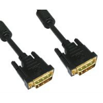 Cables Direct CDL-DV205 DVI cable 5 m DVI-D Black