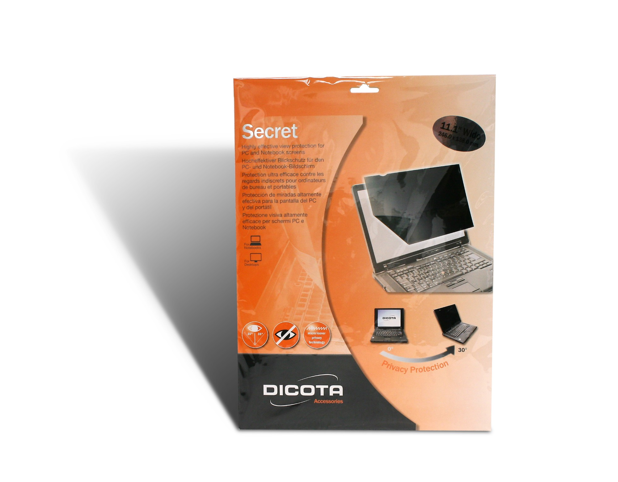 "Dicota D30109 display privacy filters 29.5 cm (11.6"")"