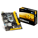 Biostar H110MHV3 Intel H110 LGA 1151 (Socket H4) Micro ATX motherboard