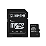 Kingston Technology 4GB microSDHC 4GB MicroSDHC Flash Class 4 memory card