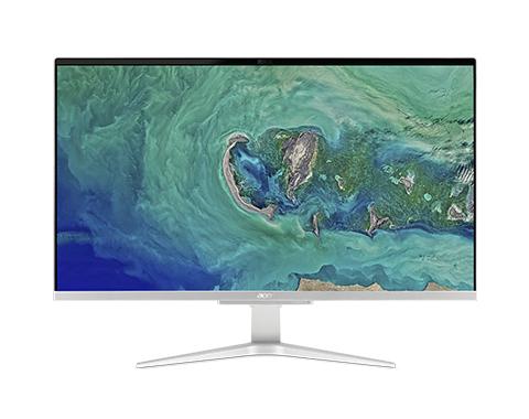 "Acer Aspire C27-865 68.6 cm (27"") 1920 x 1080 pixels 8th gen Intel® Core™ i5 8 GB DDR4-SDRAM 1128 GB HDD+SSD Wi-Fi 5 (802.11ac) Black,Silver All-in-One PC Windows 10 Home"
