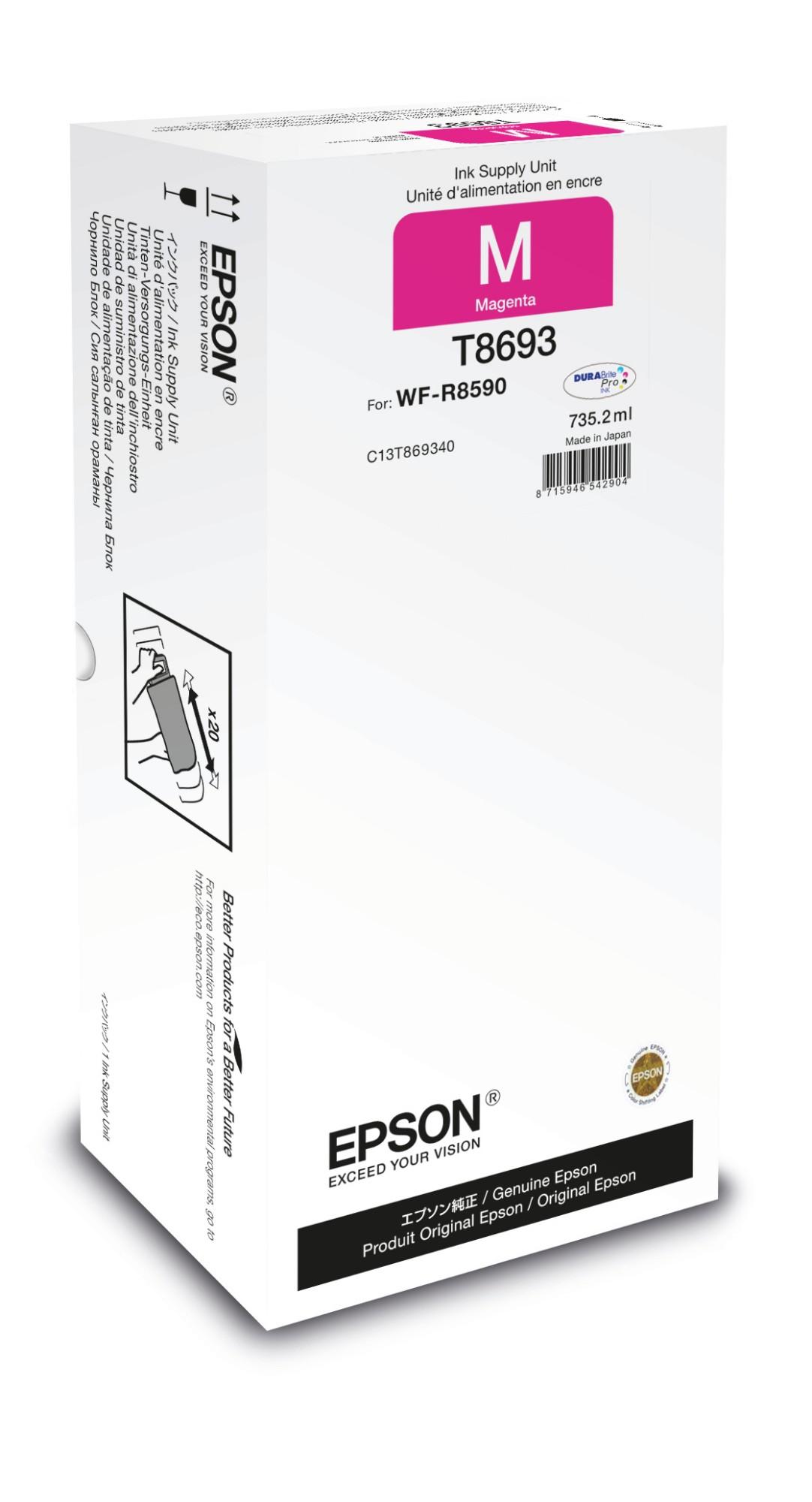Epson Unidad de suministro de tinta T8693 magenta XXL