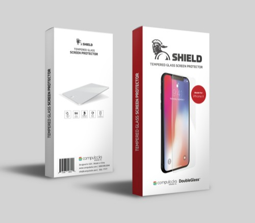 Compulocks DGSIPHX screen protector Clear screen protector Mobile phone/Smartphone Apple 1 pc(s)