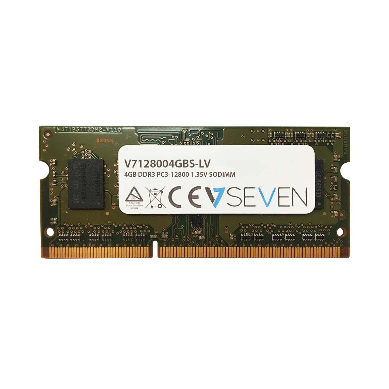 V7 4GB DDR3 1600MHz SO-DIMM módulo de memoria