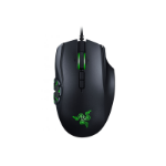 Razer Naga Hex V2 USB Laser 16000DPI Right-hand Black mice