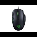 Razer Naga Hex V2 USB Laser 16000DPI Right-hand Black mice