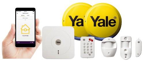 Yale SR-330 White security alarm system