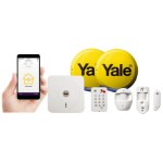 Yale SR-330 White security alarm system