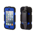 Griffin Survivor All-Terrain Shell case Black,Blue Polycarbonate,Silicone