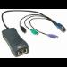 Jabra QD cord, straight, mod plug RJ11 Negro