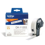 Brother DK-11203 P-Touch Etikettes, 17mm x 87mm, 300