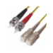 DP Building Systems OS2 ST-SC 2m ST SC Yellow fiber optic cable
