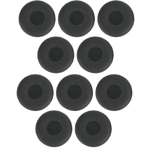 Jabra 14101-46 headphone pillow Leather Black 10 pc(s)