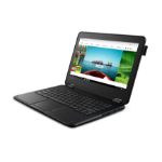 "Lenovo 300e Black Hybrid (2-in-1) 29.5 cm (11.6"") 1366 x 768 pixels Touchscreen Intel® Celeron® 4 GB LPDDR4-SDRAM 64 GB eMMC Windows 10 S"