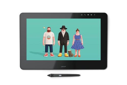 Wacom Cintiq Pro 16 graphic tablet Black 5080 lpi 345 x 194 mm USB