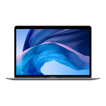 "Apple MacBook Air Notebook 33.8 cm (13.3"") 2560 x 1600 pixels LPDDR4x-SDRAM SSD Wi-Fi 5 (802.11ac) macOS Catalina Grey"