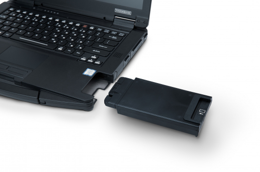 Panasonic FZ-VSC551U smart card reader Indoor Black