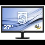 "Philips V-line 273V5LHAB 27"" 1920x1080 5ms VGA DVI-D HDMI LED Monitor"