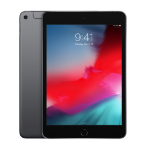 "Apple iPad mini 20.1 cm (7.9"") 256 GB Wi-Fi 5 (802.11ac) 4G LTE Grey iOS 12"