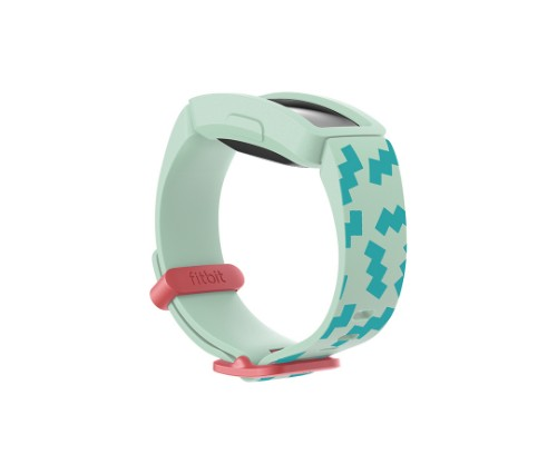Fitbit FB170PBGN activity tracker band Blue,Green,Red