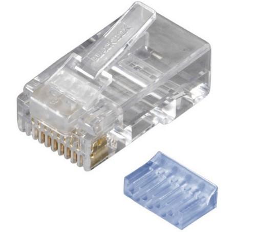 Black Box FMTP6-R2-50PAK wire connector RJ-45 Transparent