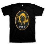 METAL GEAR SOLID Men's Ground Zeroes Fox Logo T-Shirt, Extra Large, Black (GE1691XL)