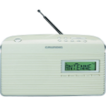 Grundig Music WS 7000 DAB+ radio Portable Analog & Digital Silver,White
