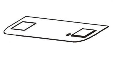Zebra 105934-062 pieza de repuesto de equipo de impresión Placa identificativa 4 pieza(s)