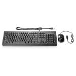 HP H6L29AA keyboard USB Black