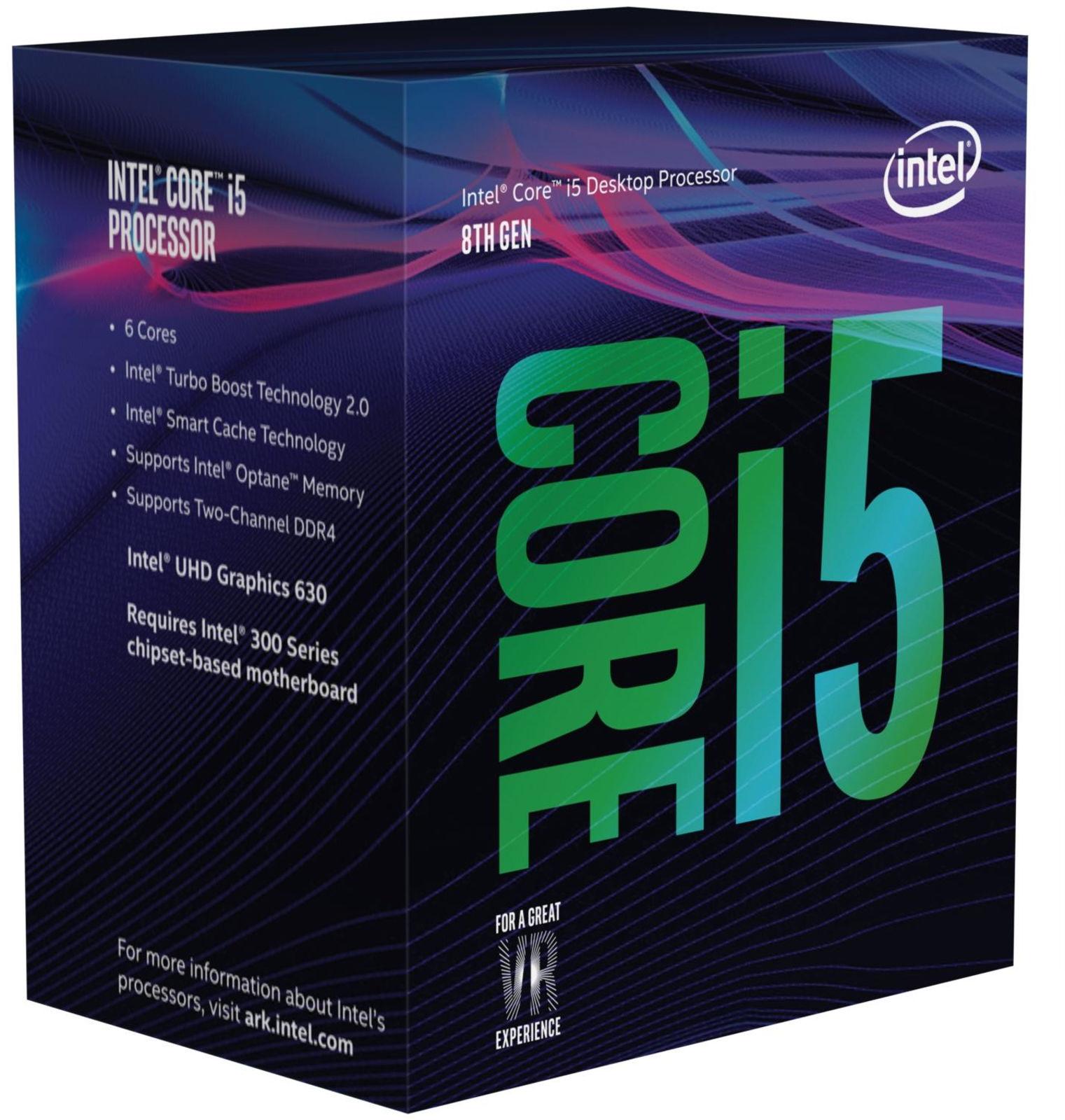 Intel Core i5-8600 processor 3.1 GHz Box 9 MB Smart Cache