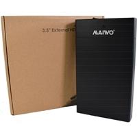 "MAIWO USB 3.0 3.5"" External Hard Drive Enclosure  with Power Adapter"