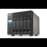 QNAP TX-500P disk array 30 TB Tower Black