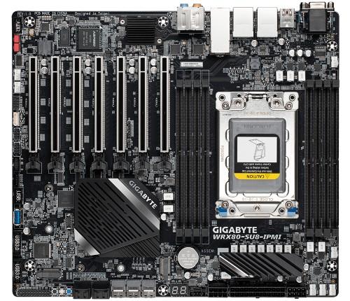 Gigabyte WRX80-SU8-IPMI motherboard AMD WRX80 Socket sWRX8 CEB
