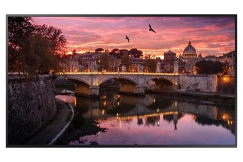"Samsung QB55R 138.7 cm (54.6"") LED 4K Ultra HD Digital signage flat panel Black"